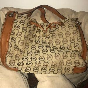 Signature Michael Kors shoulder bag